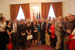 New book about Albania launched at the Albanian Embassy in London