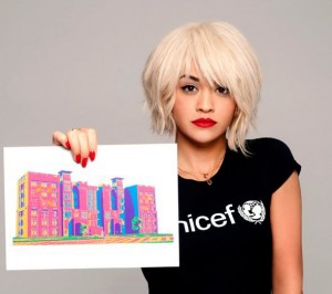 Rita Ora, herself a former refugee, now is appealing for Syrian refugees