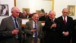 The Knighthood of Sir Noel Malcolm celebrated at the Embassy of Albania in London, 04 February 2014