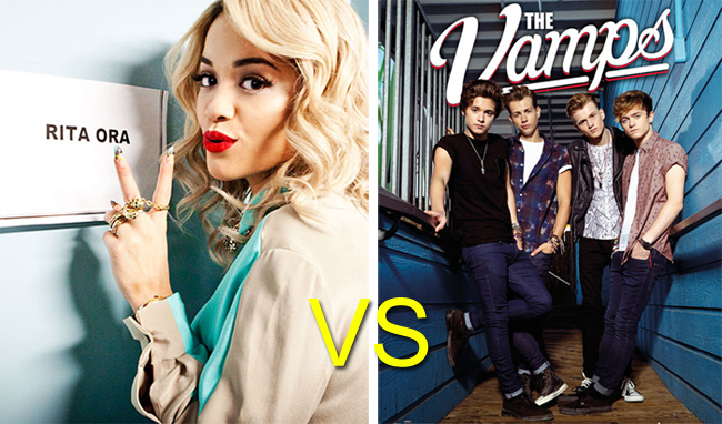 Rita Ora vs The Vamps