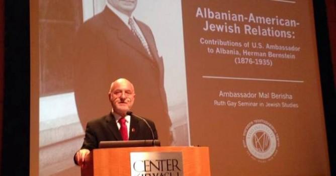 Mal Berisha ne YIVO Institute of Jewish Research në New York City