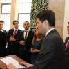 Ministri i Diasporës, z. Valon Murati, duke folur gjate festimit te pervjetorit te shtate te Pavaresise se Kosoves, ne Parlamentin Britanik