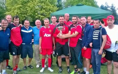 Në një turnin futbolli u mblodhën £2225 për të varfërit e Kosovës