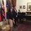 Albanian Embassy in London hosted the world famous Albanian lyric tenor, Mr. Saimir Pirgu