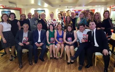 """Mbrëmë në Londër u festua dalja e librit """"Lutfi Vata, Frymëzim për Ardhmërinë"""""""